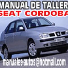 Manual De Reparacion Seat Cordoba