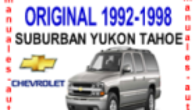 manual de reparacion suburban tahoe yukon