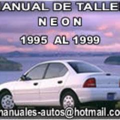 manual de taller neon 1998 1999