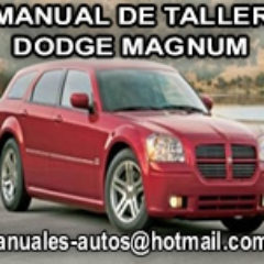 manual de reparacion Dodge Magnum