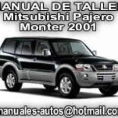 Manual de Taller Mitsubishi Pajero-Monter 2001-2002
