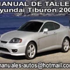 manual de talle hyundai tiburon 2006