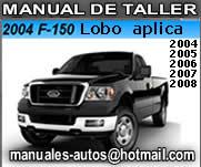 2004 2005 ford f150 manual de taller diagramas y diagnosticos rh manual mecanica com manual ford lobo triton 2007 manual ford lobo 2007