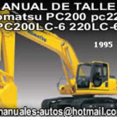 manual de taller komatsu PC200 200LC-6 PC220 220LC-6