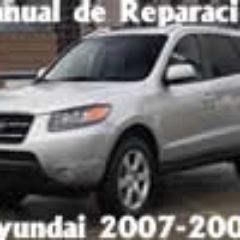Hyundai Santa Fe Manual De Reparacion Mecanica 2007 2008
