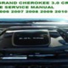 Grand Cherokee 2005 2010 Diesel 3.0 CRD Manual De Reparacion Mecanica Motor